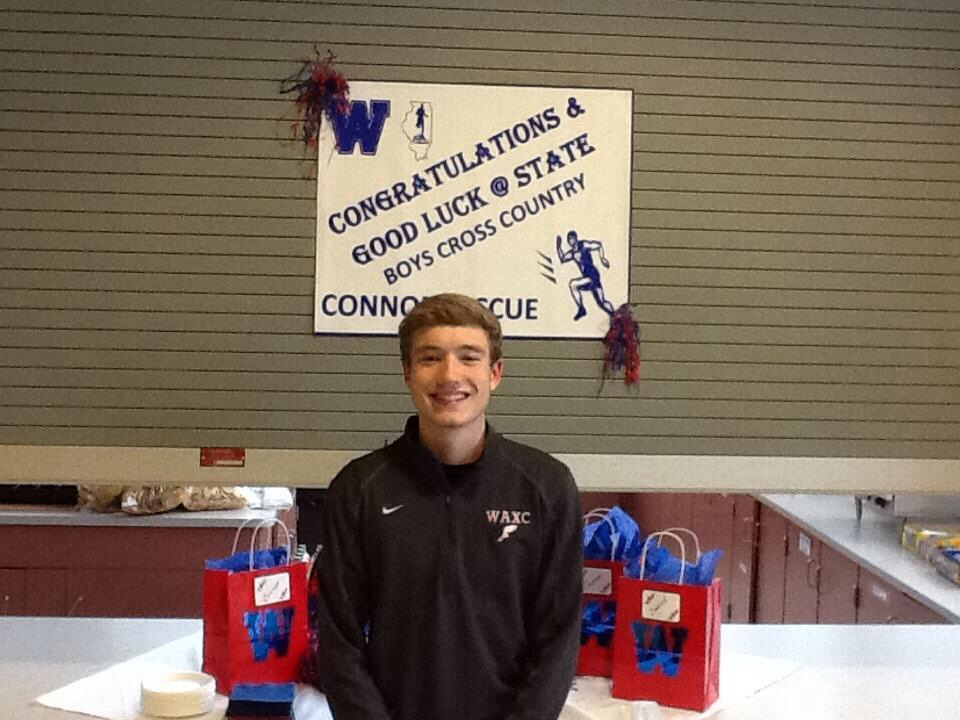 2014 Boys Cross Country State Competitor