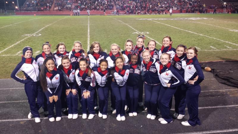 2014 Cheer Football Season