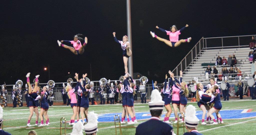 2014 Cheer Senior Night