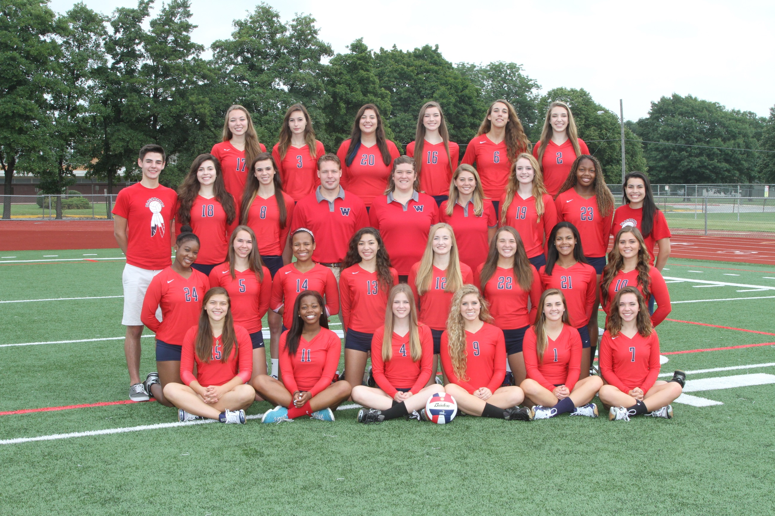 2014 Girls Volleyball (Varsity)