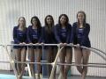 2014 Girls Swimming & Diving Senior Night