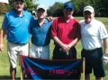 Jerry Howard Joe Thorgeson and team enjoy a great day of golfing