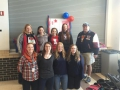 2015 Girls Bowling State Send Off